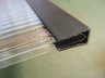 View Item PVC Strengthening Strip/ End Closure for 4mm Twinwall Polycarbonate